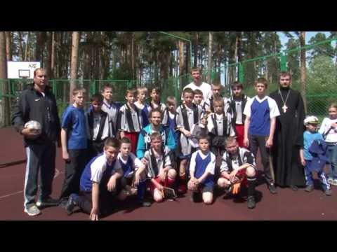 Сюжет НБФ о матче организованном Воскресенской церковью Томска