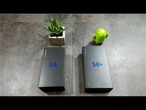 Galaxy S8 and S8 Plus Unboxing...Which one to choose???