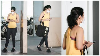 Actress Rashi Khanna At Post GYM Today | Celebrities At Hyd Gym | TFPC - TFPC