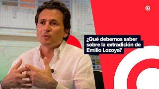 ¿Qué debemos saber sobre la extradición de Emilio Lozoya