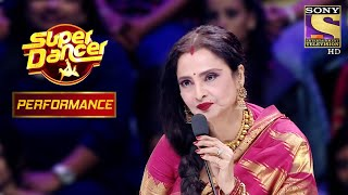 Rekha Is Mesmerised By Aishwarya And Shagun's Performance | Super Dancer Chapter 2 - SETINDIA