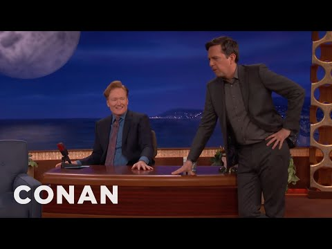 connectYoutube - Ed Helms Cross-Examines Conan As An Old-Timey Southern Lawyer  - CONAN on TBS