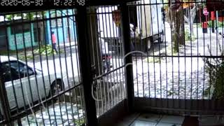 Asaltantes de Managua encañonan a trabajadores de un camión repartidor
