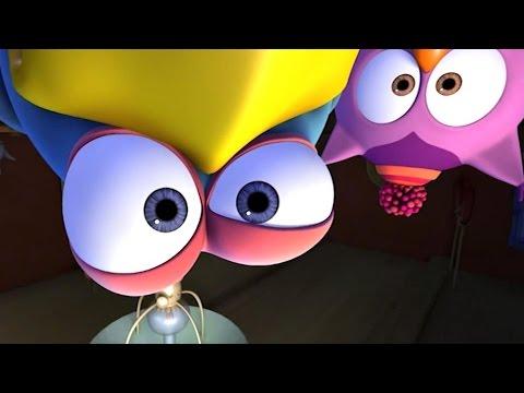 Кадр из мультфильма «Смешарики. Новые приключения. Очень большие неприятности»