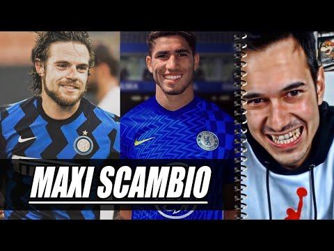 MAXI SCAMBIO PAZZESCO  Calciomercato Inter