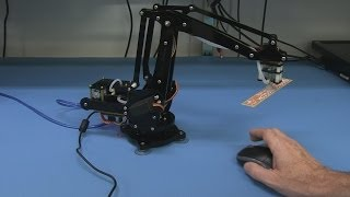 EEVblog #586 - Open Source Hardware uARM 4-Axis Desktop Robotic Arm Kickstarter