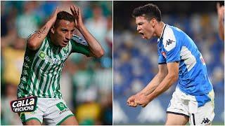 Hirving Lozano y Andrés Guardado, realidades y aspiraciones distintas para el 2020 | Calla y Escucha