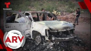 Alarma en Tamaulipas por ataques contra familias estadounidenses   Al Rojo Vivo   Telemundo
