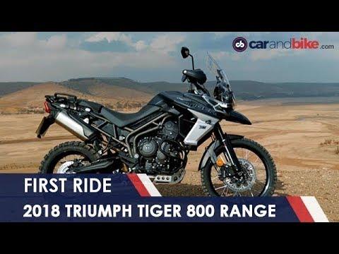 connectYoutube - 2018 Triumph Tiger 800 First Ride Review | NDTV carandbike