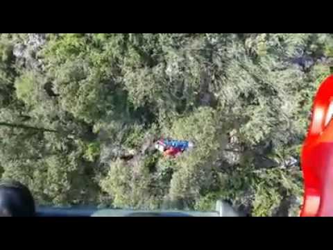 男子登山跌倒骨折受困 消局出动直升机救人