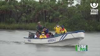 Realizan entrega de jaulas flotantes en Laguna de Perlas
