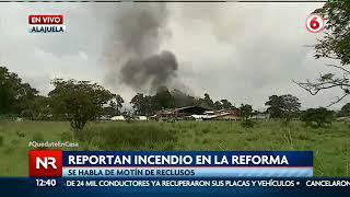 Reportan incendio en La Reforma