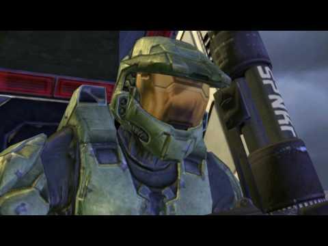 Halo 2 anniversary all cutscenes 60 fps webcam