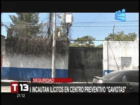 Incautan ilícitos en centro preventivo Gaviotas