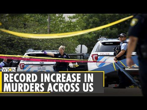 Record increase in murders across America