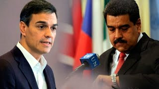 NUEVA MUESTRA DE  SÁNCHEZ E IGLESIAS DE SU CLARO APOYO AL RÉGIMEN DE NICOLÁS MADURO EN VENEZUELA