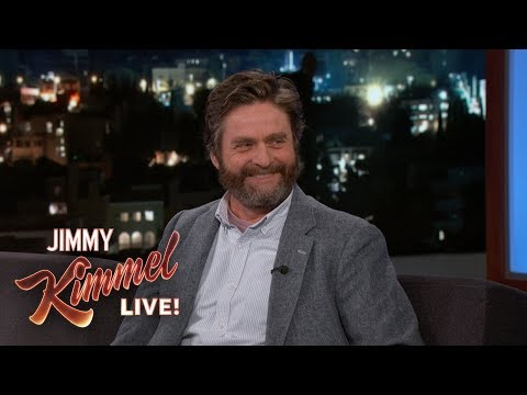 connectYoutube - Zach Galifianakis is Tight with Oprah