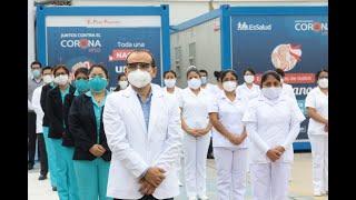 Instalan Villa EsSalud Ferreñafe para pacientes COVID-19