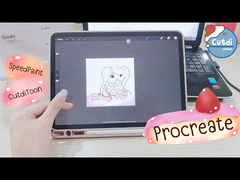 Procreate-SpeedPaint-วาดน้อง-N