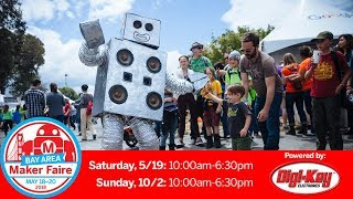 Maker Faire Bay Area: Sunday 5/20