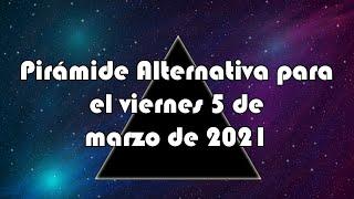 Pirámide Alternativa para el viernes 5 de marzo de 2021 - Lotería de Panamá