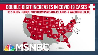 Fact-Checking Trump's Claim That U.S. Is 'Rounding The Corner' On COVID-19 | Andrea Mitchell | MSNBC