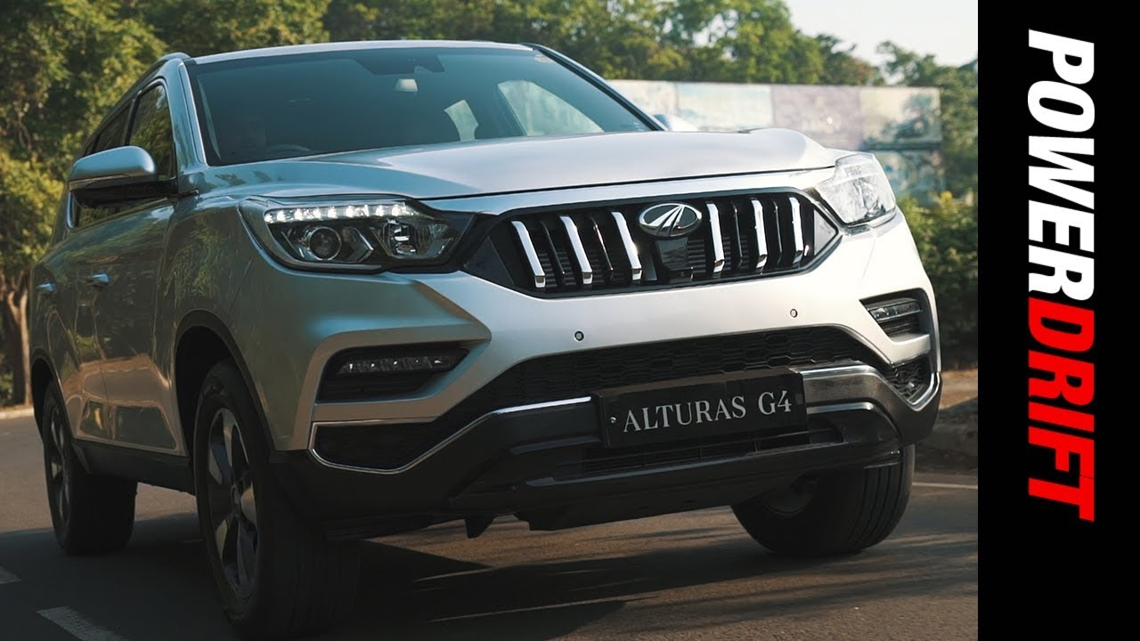 Mahindra Alturas G4 : Mahindra's feature loaded Fortuner rival : PowerDrift