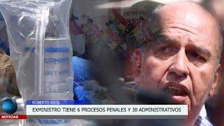Caso del ex ministro Arturo Murillo tiene 6 procesos penales y 30 procesos administrativos
