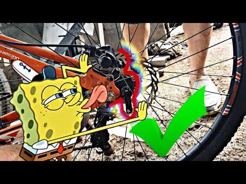 Adaptador de 26-29 ya instalado en la bicicleta 100% real(#bicimotoszoids)