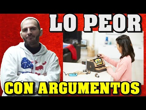 ¡¡¡LO PEOR DE NINTENDO LABO CON ARGUMENTOS!!! - Sasel - Switch - Comentarios