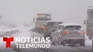 Enorme nevada azotará el sur de California antes de Año Nuevo   Noticias Telemundo