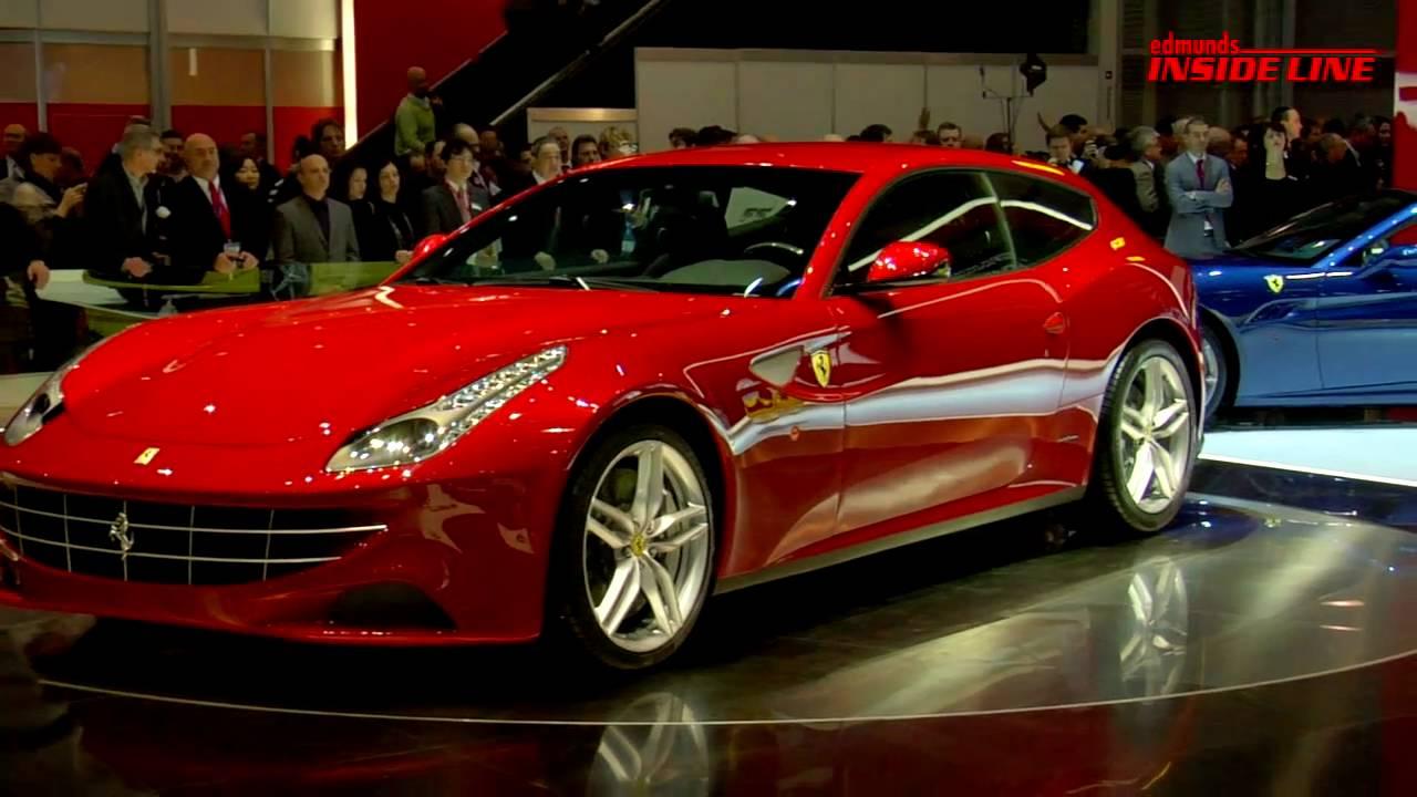 2012 फेरारी एफएफ  एटी geneva motor show