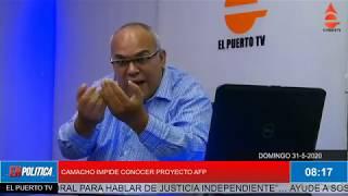 EN POLÍTICA 31 5 2020  SIGUE CAMPAÑA CON ESTADO DE EMERGENCIA