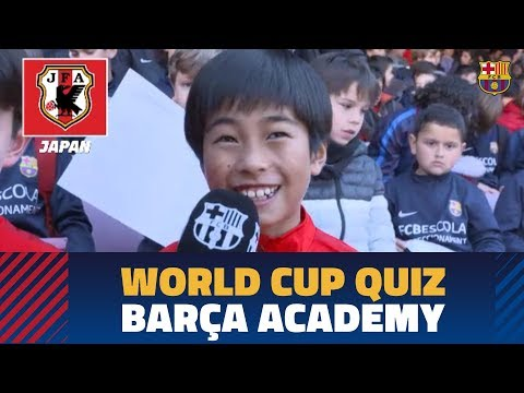 #BarçaWorldCup Quiz | Barça Academy players