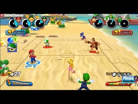 connectYoutube - Mario Sports Mix - Mario And Friends DodgeBall Games - Videos Games - Nintendo Wii Edition