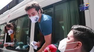 Actores de la novela Si Se Puede entregaron mascarillas en Guayaquil