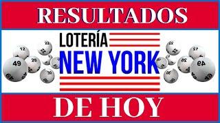Lotería New York Tarde resultados de hoy