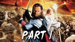 Lord of the Rings: Return of the King Walkthrough Part 1 - Let's Play | Gameplay Commentary