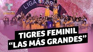 Las razones por las que Tigres es el más grande de la Liga MX Femenil | Telemundo Deportes