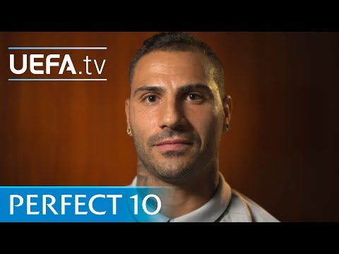 Who joins Ibrahimović and Messi to make up Quaresma's perfect number 10?