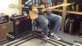 Suhr Classic T Antique '50s Trans Butterscotch Guitar - Quick n' Dirty