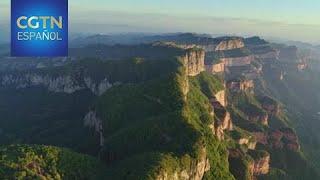El Grupo de Medios de China emite un documental sobre los paisajes del país captados desde el aire