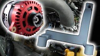 Subaru High Output Alternator Bracket