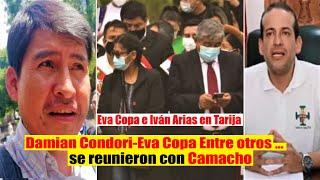 Evo Morales Denuncia: Damián Condori, Eva Copa, Montes se reunieron con Camacho en Tarija - Bolivia