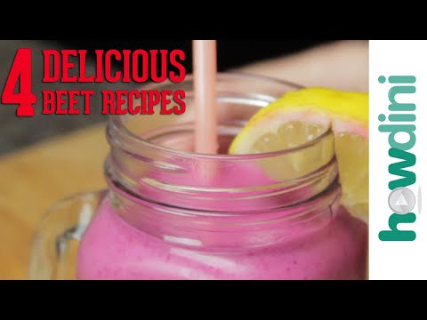 4 Delicious Beet Recipes | Howdini
