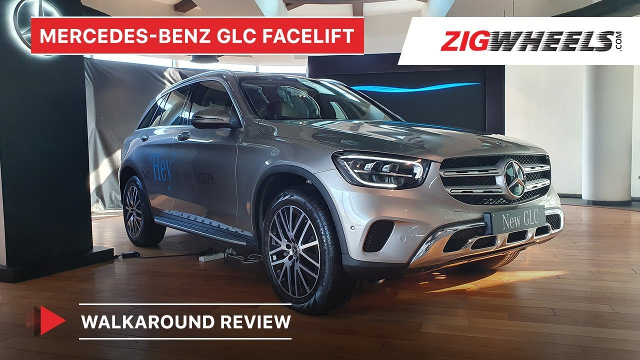 Mercedes-Benz GLC Facelift Walkaround Review | Price, Features, Engines & More | ZigWheels