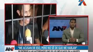 Caso Julissa Campos: Se entregó uno de los implicados en la muerte