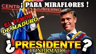 ¡¡ULTIMO MINUTO!! LEOPOLDO LOPEZ PRESIDENTE DE VENEZUELA 2020 GRAN TRAICION CONTRA MADURO