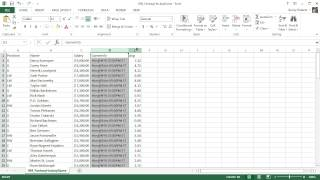 Microsoft Excel 2013 Tutorial - 5 - Inserting Rows and Columns