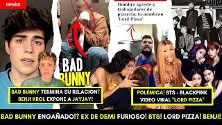 POLÉMICA CON BAD BUNNY Y KAROL G! VIDEO VIRAL DE LORD PIZZA! BENJI & JEYJEY! HACER DINERO EN WEBSITE